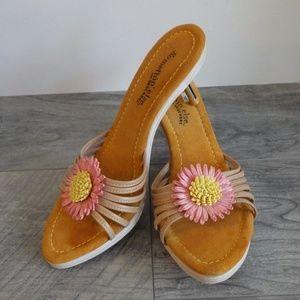 Somethin Else Skechers Daisy Mule Sandal Heel 9